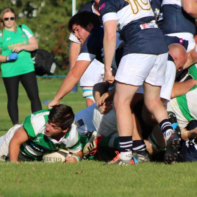 Folkestone 1st XV lose to Old Dunstonians 38-47 by Lisa Godden