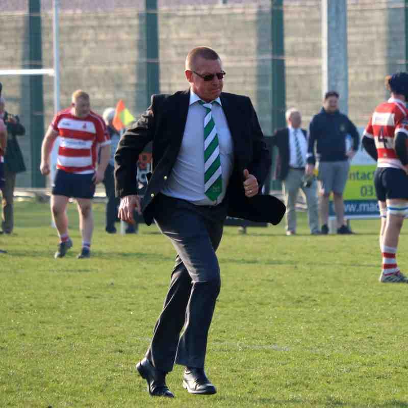 Folkestone 1st XV lose by 2 points to Crowborough 31-33 by Lisa Godden