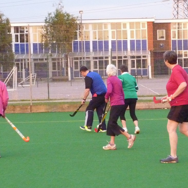 Walking Hockey   New sessions announced<