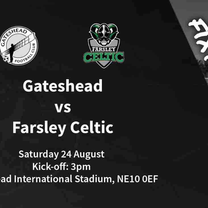 Away Day Guide: Gateshead vs Farsley Celtic (24/08/2019)