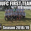 HUFC - FIRST TEAM  beat Ludgershall FC 0 - 9