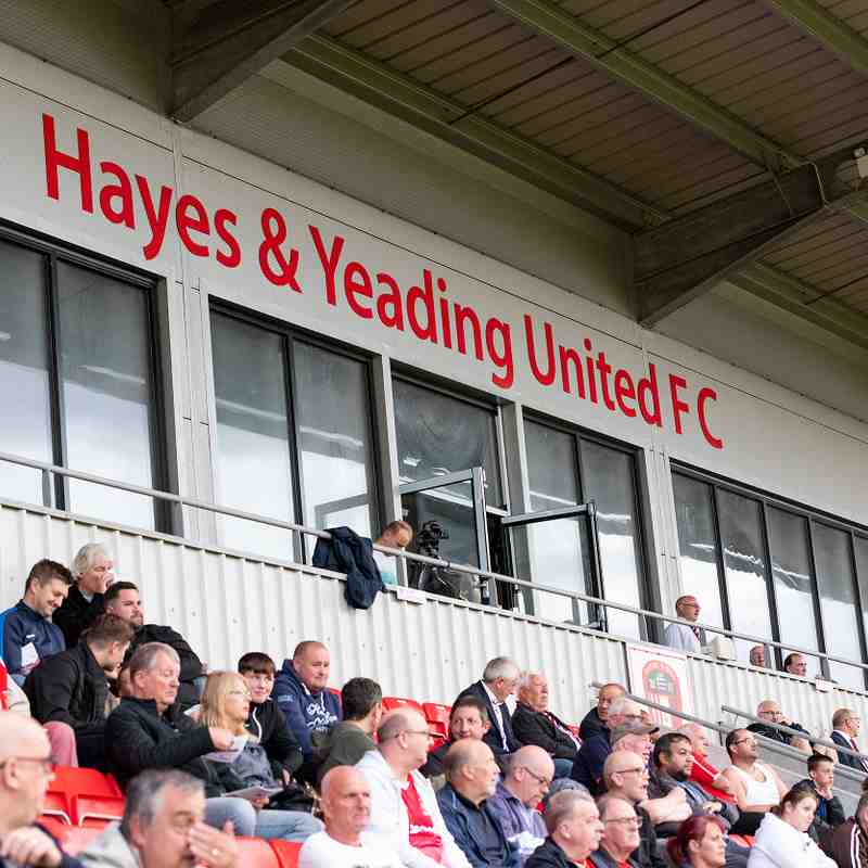 Hayes & Yeading FC v HARROW BOROUGH, Tuesday 13th August 2019