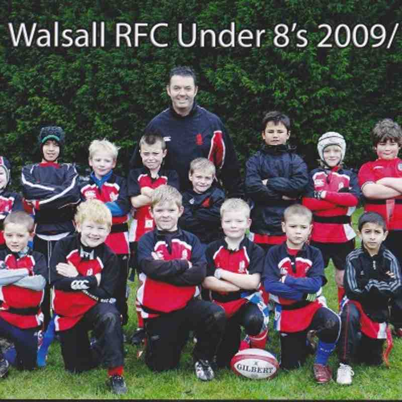 The Mighty Walsall Under 8`s