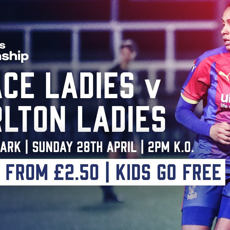 Fixture Details for Final Home Fixture Vs Charlton Ladies FC