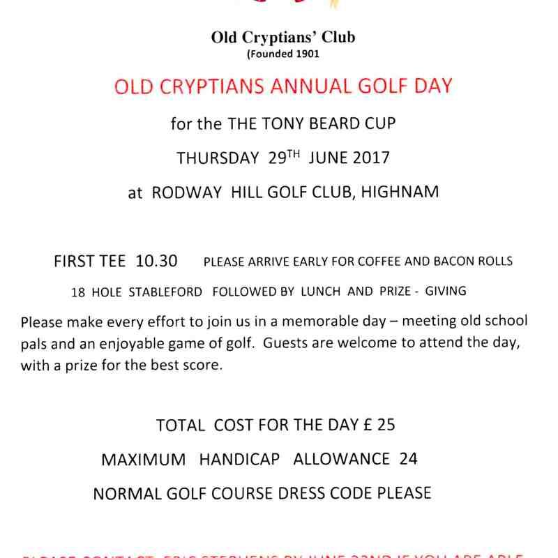 OCC Golf Day