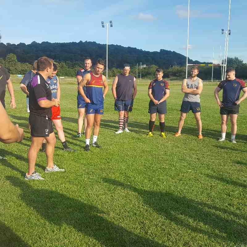 Pre-season training 04.07.17