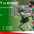 1st XV Team to face Beverley