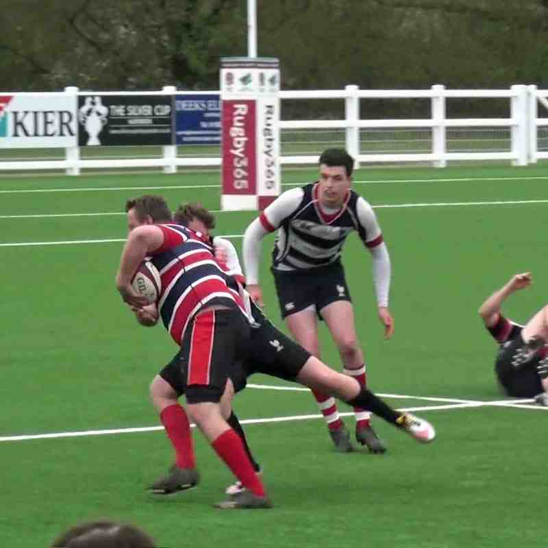 Harpenden RFC 3rd XV vs. Watford RFC 2nd XV - 06 April 2019