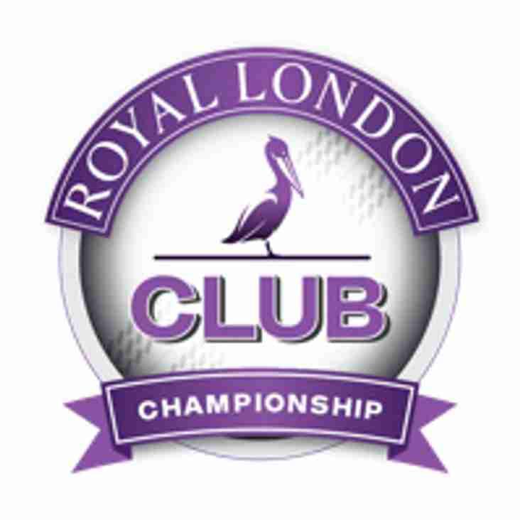 Royal London group Semi Final this Sunday