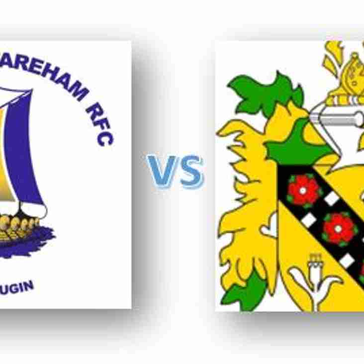Hampshire Bowl Semi Final - Kick Off @ 2pm