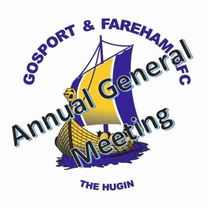 Annual General Meeting - 1st Calling