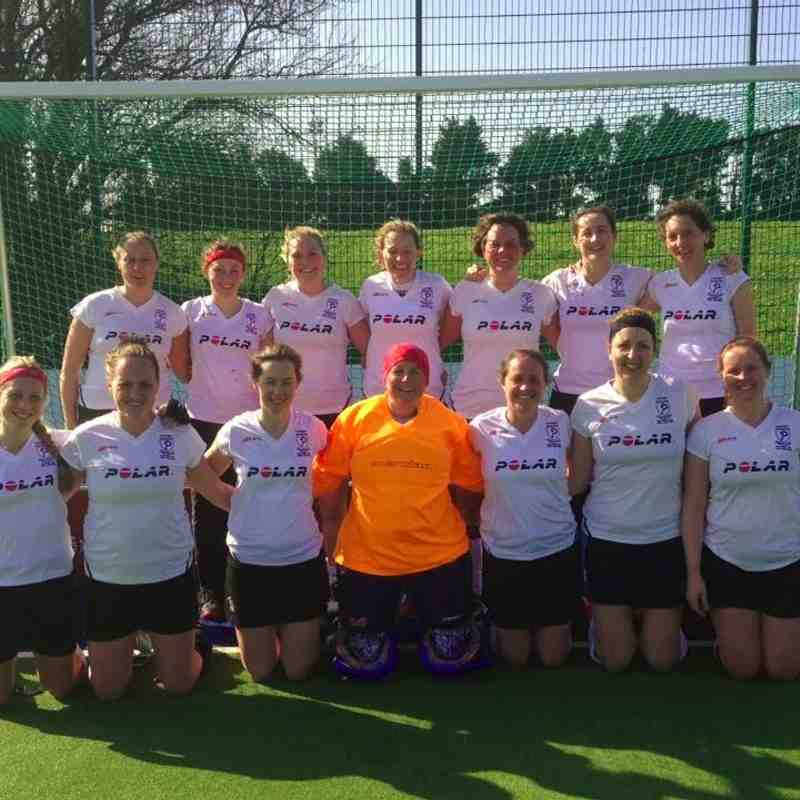 Ladies Over 35's v Jersey - 13th March 2016