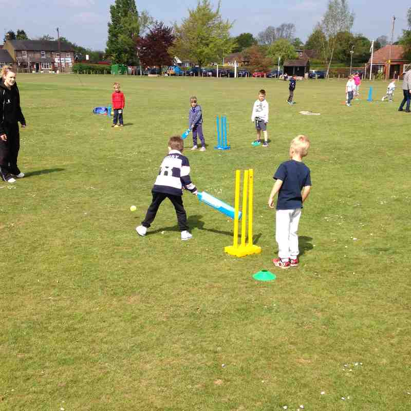 Prelim sessions to ECB All Stars Cricket for 5 to 8 year olds