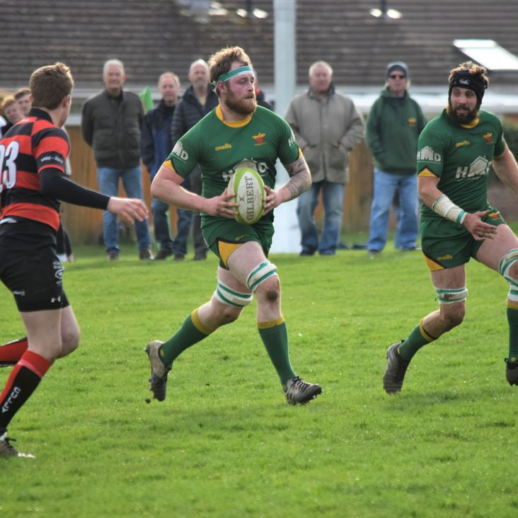 Four try Freeman leads the charge as Newent shake off determined Devonians by Simon Barker <