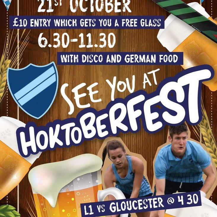 Hoktoberfest is coming!<