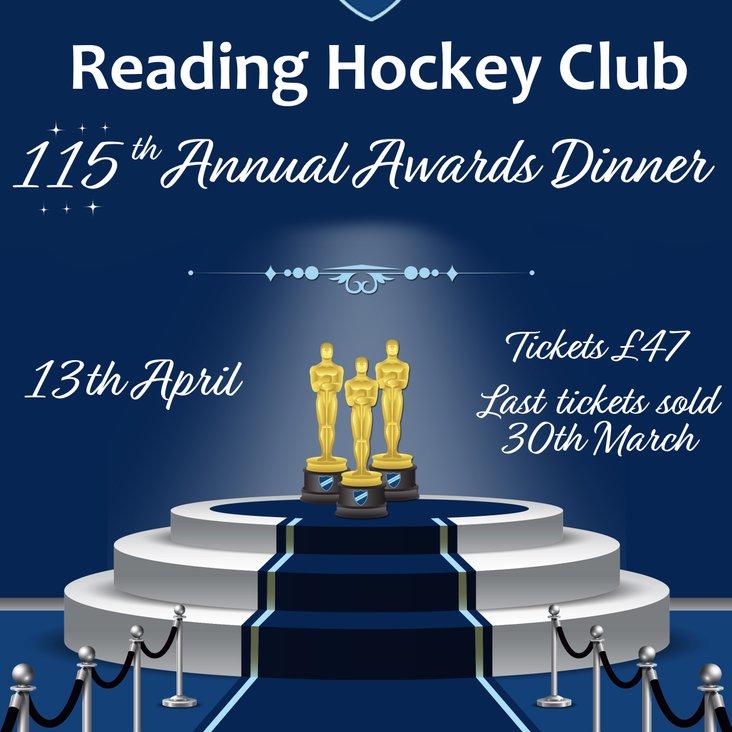 Club Awards Evening<