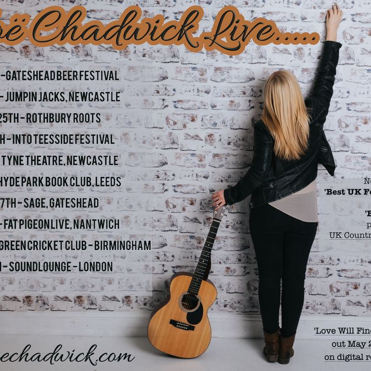 Chloe Chadwick - Live at BGCC - Saturday 8th July - EVENT CANCELLED<