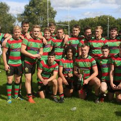 Saddleworth Rangers v Waterhead Under 16s Oldham Cup Final 11th September 2016