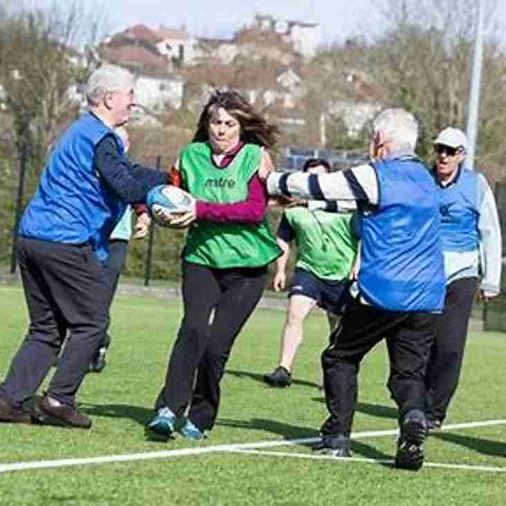 Sale Sharks and Walking Rugby May 8th 7-8.30pm