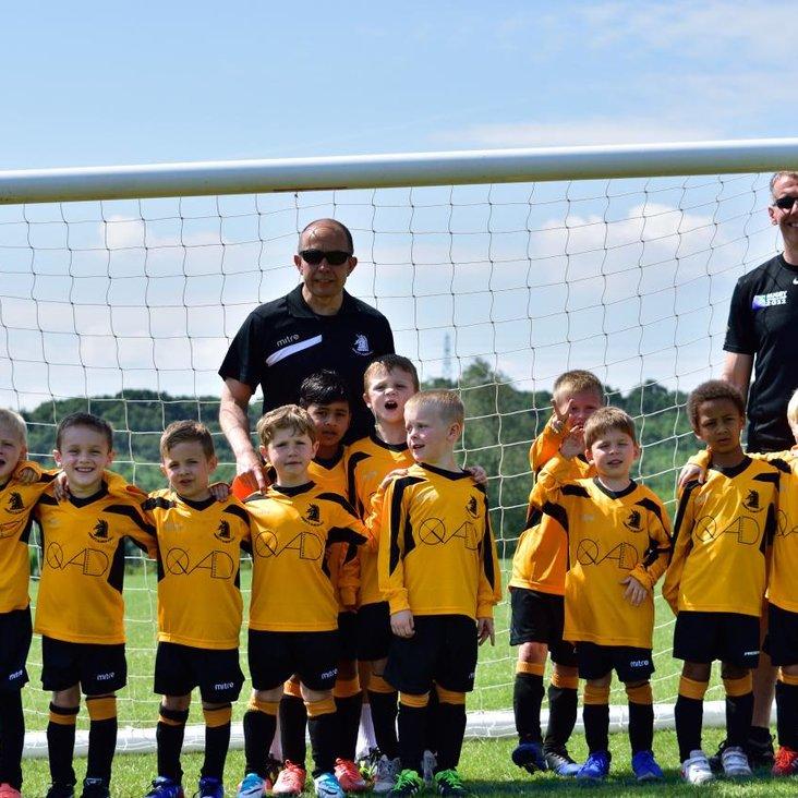 New Sponsors for Albion U6 Squad<