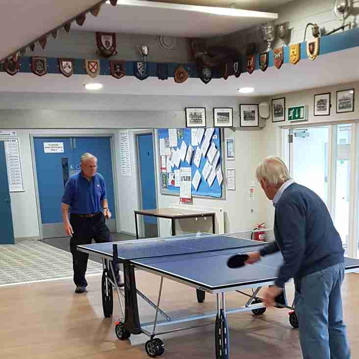 Table Tennis proved popular!