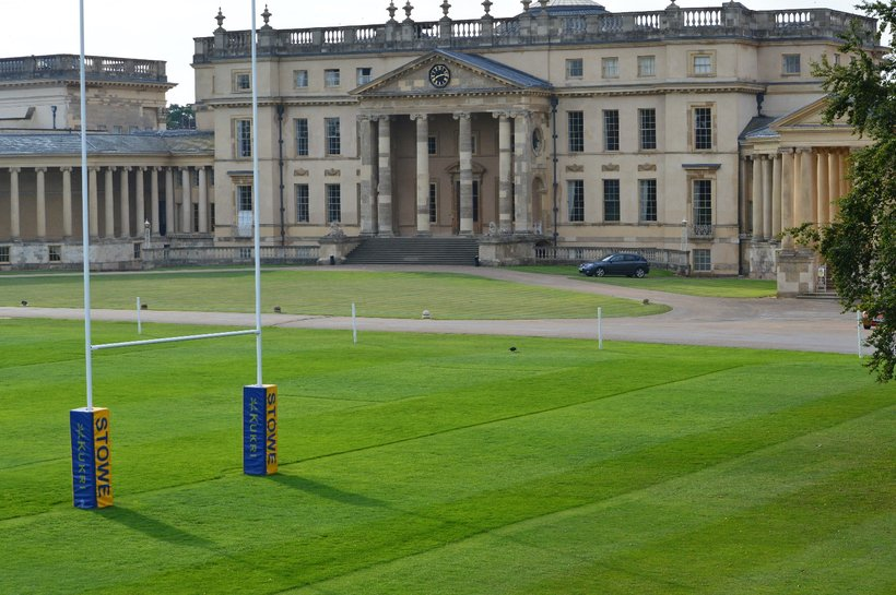 Preparations at training camp at Stowe School for England