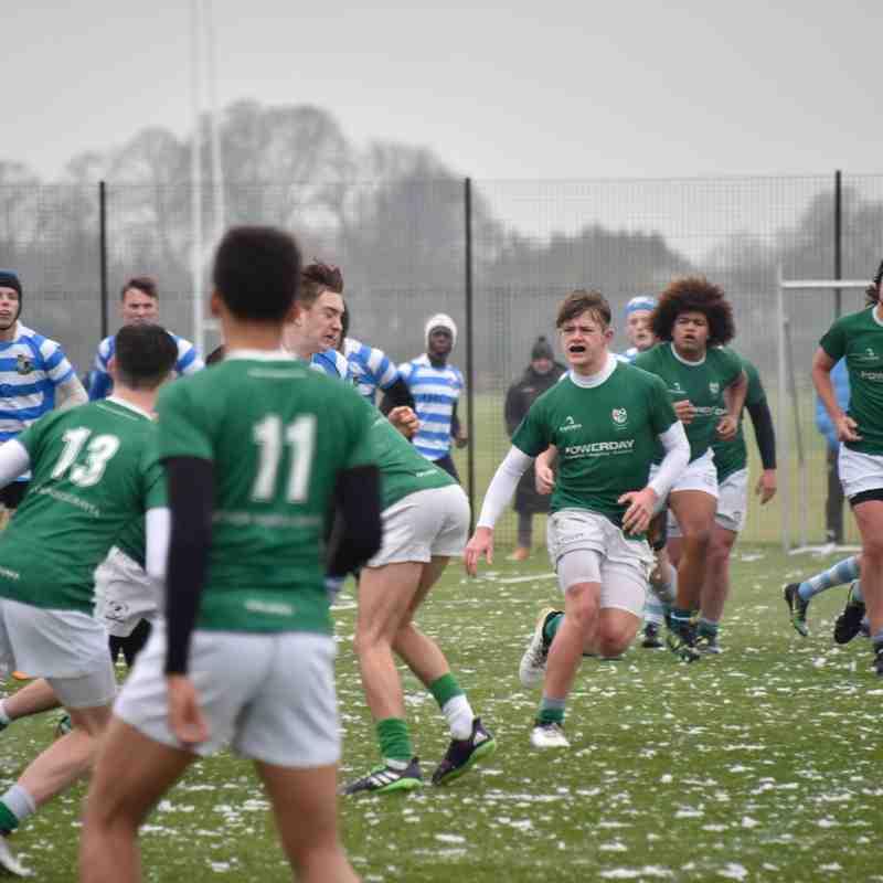 2017 12 10 London Irish U16 v Warlingham