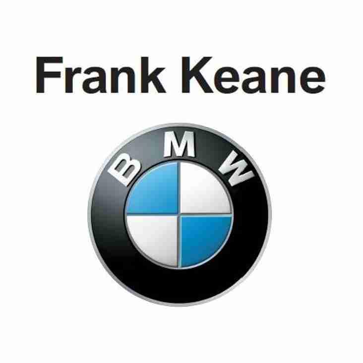 Frank Keane BMW become YMCA HC sponsor