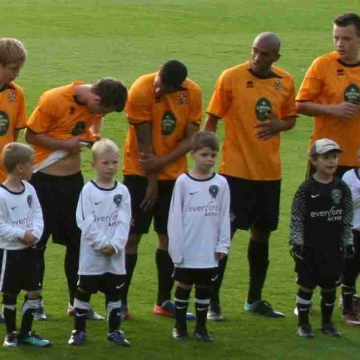U7s star as Cambridge United Mascots