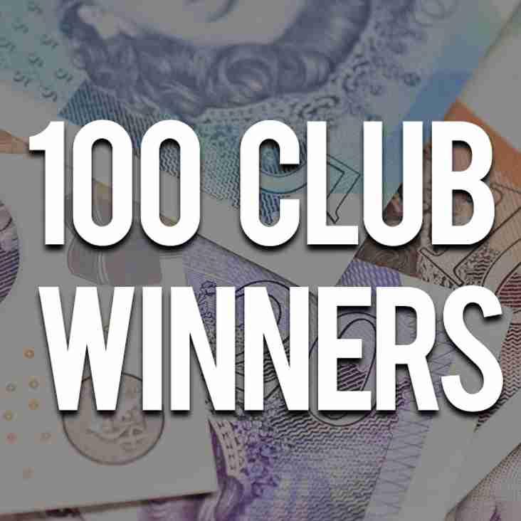 March's 100 Club Winners