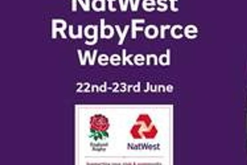NATWEST RUGBY FORCE 2019 -Reminder