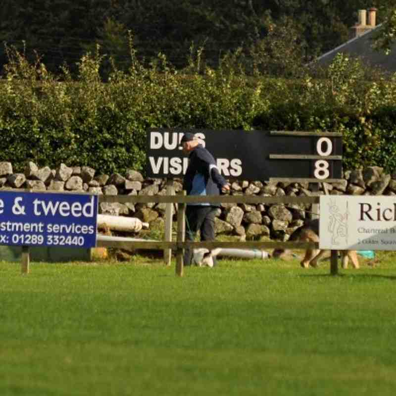 Duns v Dalkeith - Club photos - Duns Rugby Club