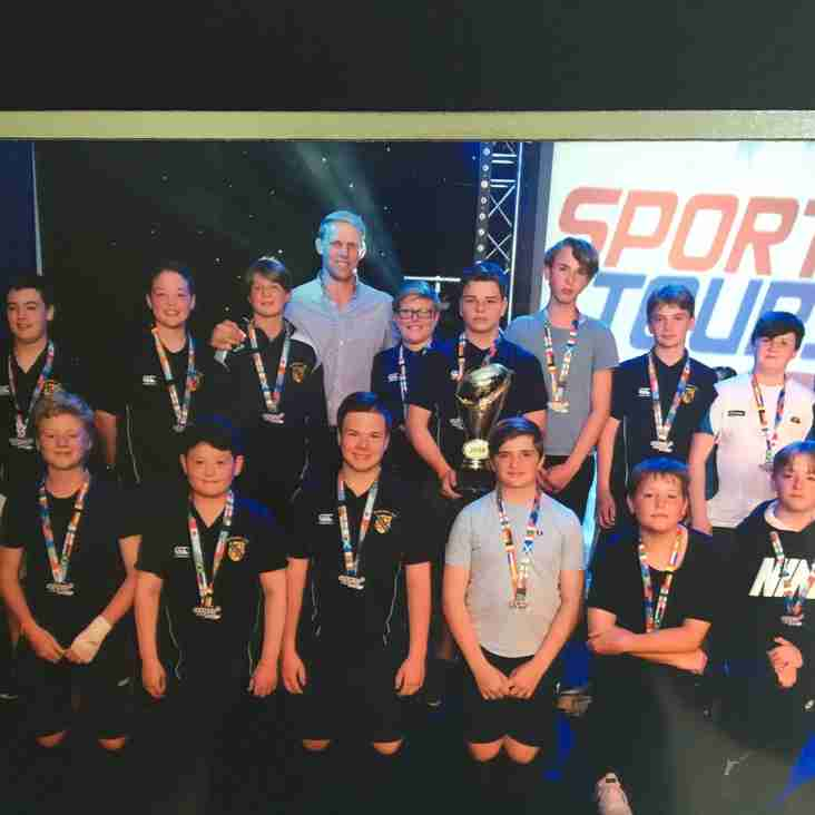 Bancroft U14s have success on tour at the Camber Sands Rugby Festival