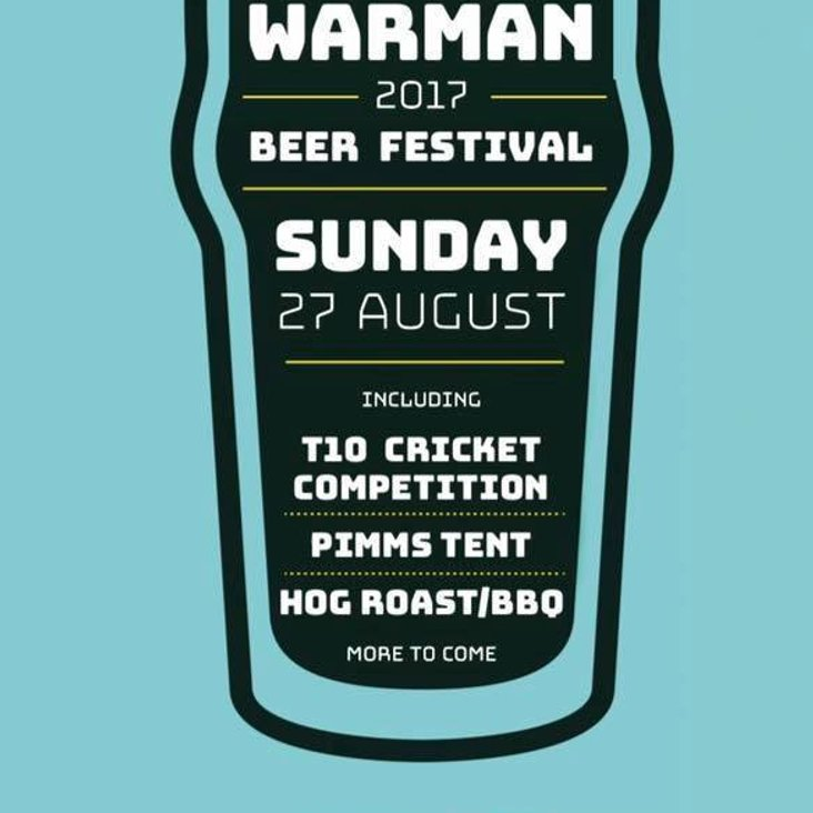 Beer Festival This Sunday<
