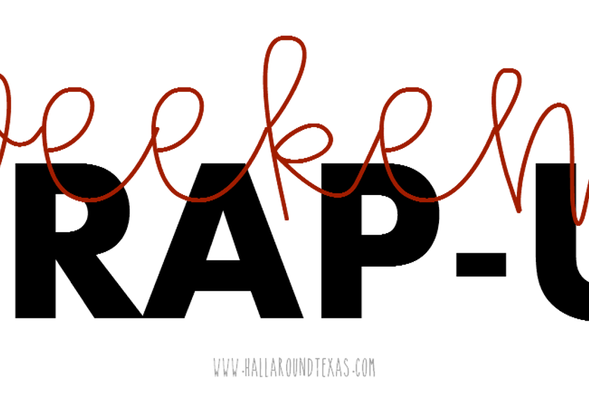 Weekend Wrap - Week 11