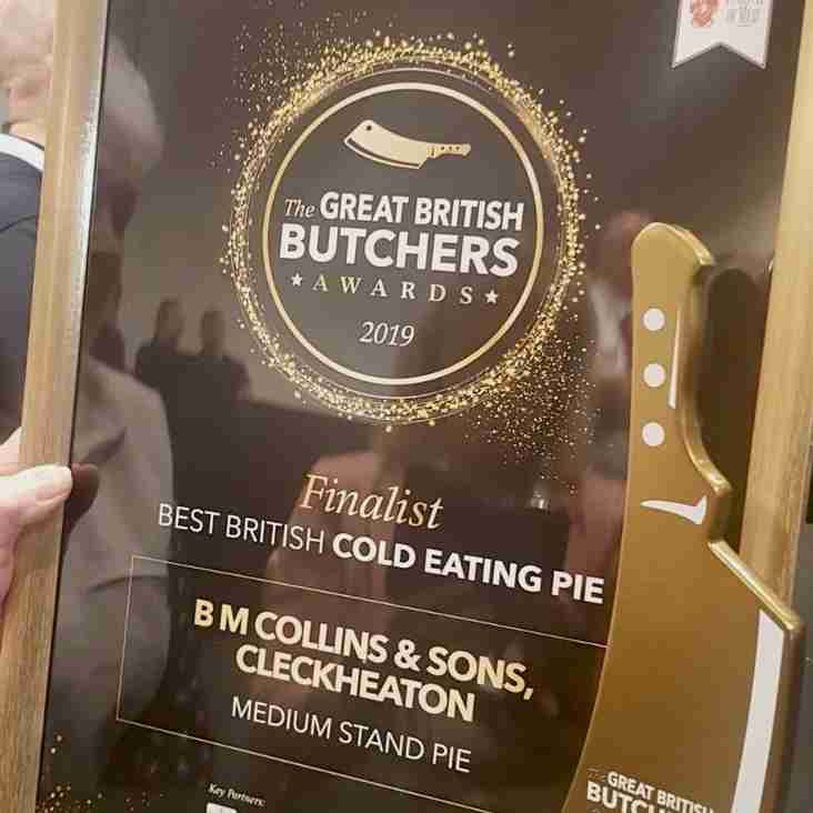 Cleckheaton RUFC Man of The Match Pies, Best in Britain - Official