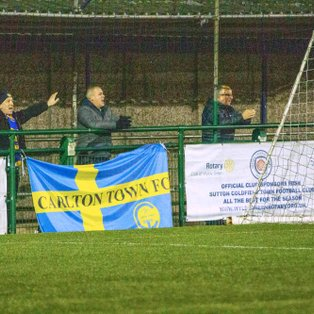 SUTTON COLDFIELD TOWN 1-1 CARLTON TOWN - MATCH REPORT
