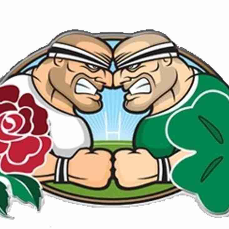 England V Ireland Saturday 24th KO 3pm