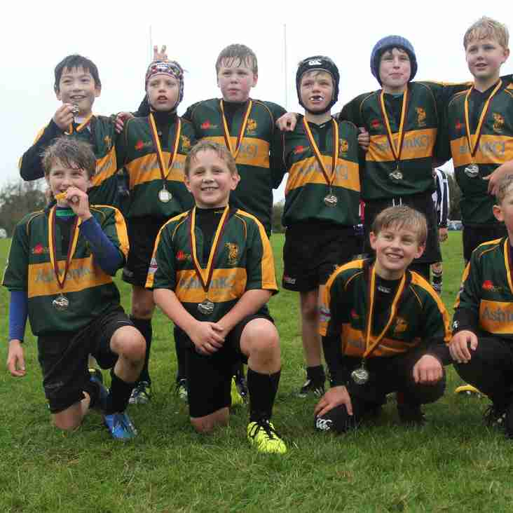 U10 Wolves lift Cup at Ipswich YM mini tournament