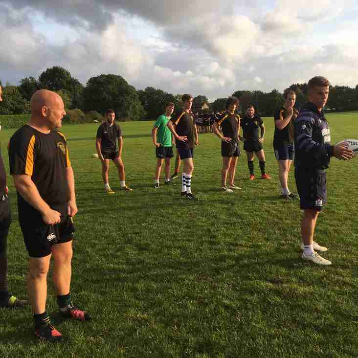 Kicking Clinic with Bristol Rugby's Billy Searle
