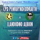 CPD Penrhyndeudraeth 1-3 Llandudno Albion