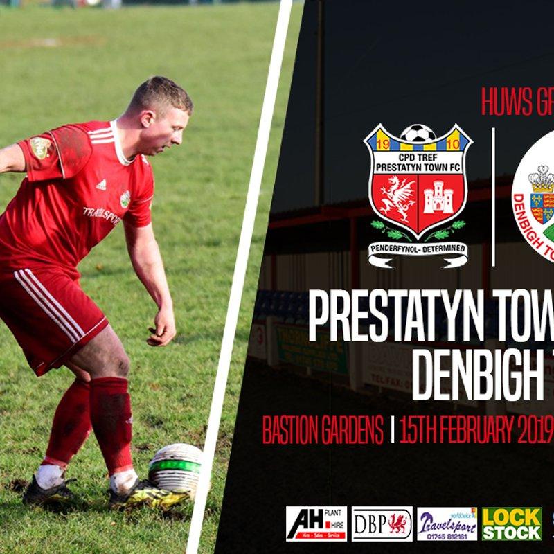 Match Preview: Prestatyn Town v Denbigh Town