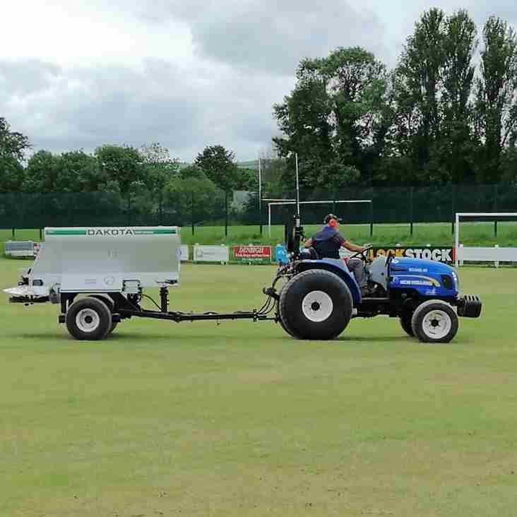 Further work being done on and off the pitch
