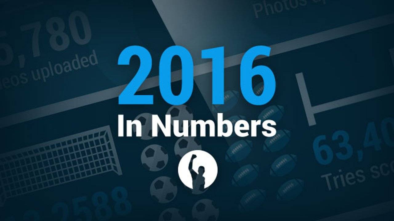 Your sporting numbers of 2016