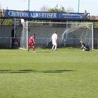 AFC Croydon Athletic 3 Cobham 0 (I missed the first goal)