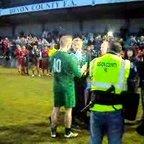 Lifting the Devon Senior Cup!!!