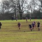Sam Whiting's Try - Hove vs Old Alleynians