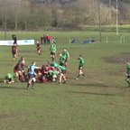 Liam Poole try Vs Drybrook RFC