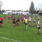 Walsall Colts v Stourbridge Colts scoring try