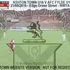Ashton Town U18 Vs AFC Fylde U18 (21.08.16)